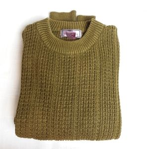 Vintage 90s moss knit  sweater